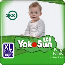 YokoSun трусики Eco XL (12-20 кг) 38 шт.